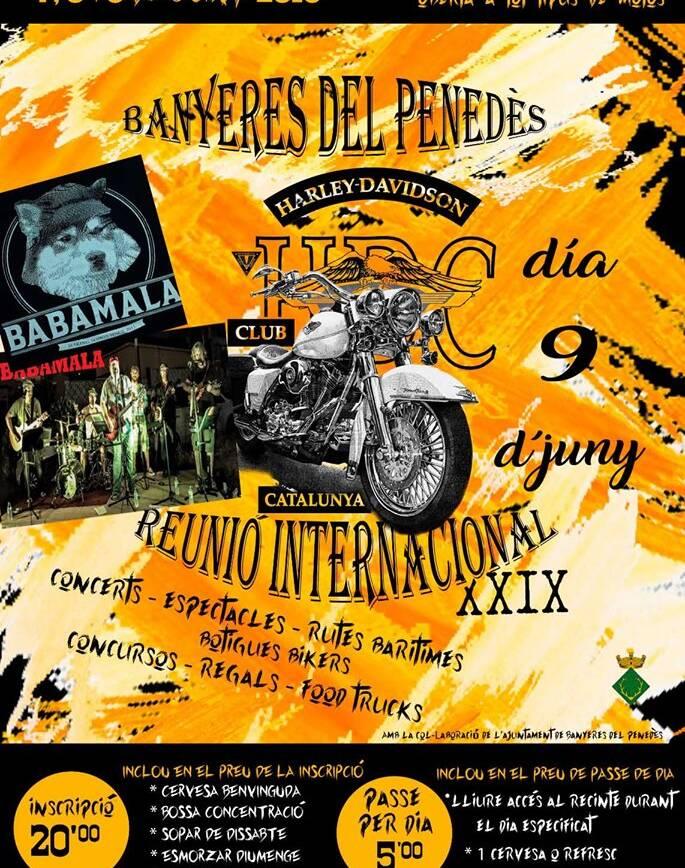 XXIX Reunión Internacional Harley Davidson Club Catalunya