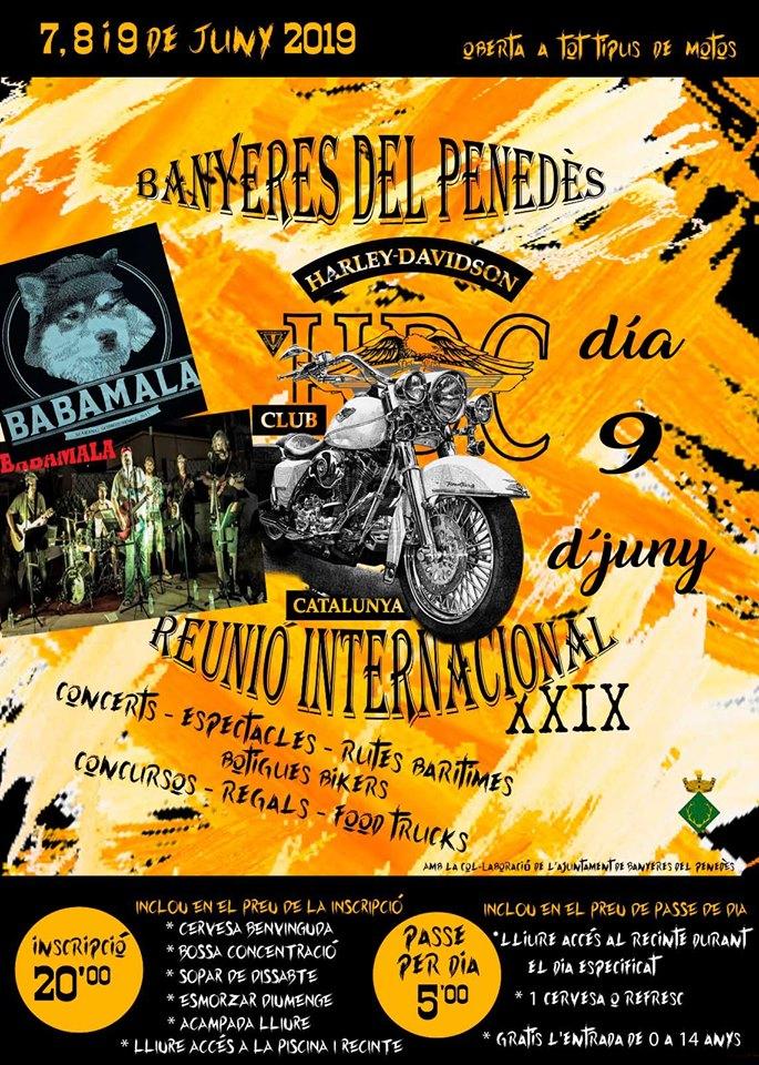 XXIX Reunió Internacional Harley Davidson Club Catalunya