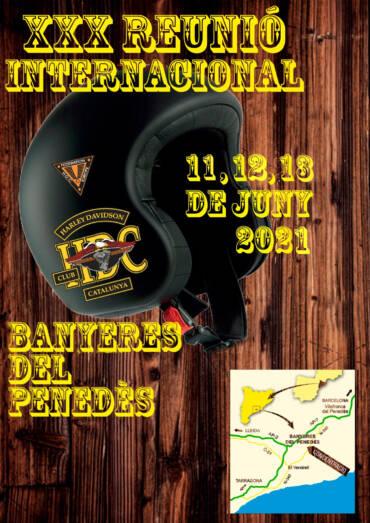 XXX Reunión Internacional Harley Davidson Club Catalunya